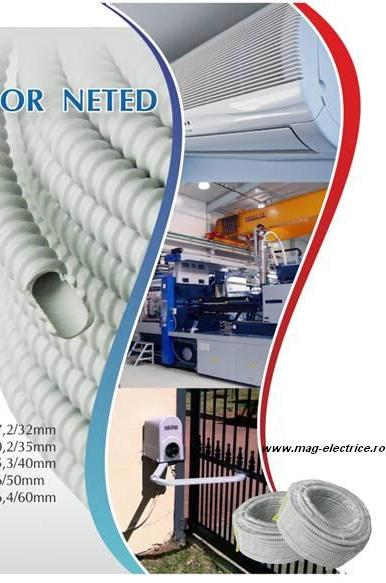 Tub flexibil PVC 28mm