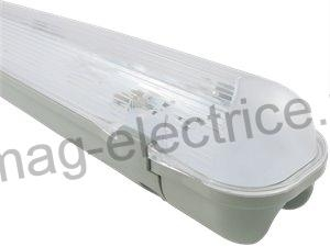 Corp neon IP65 1500mm echipat cu 1 tub LED 22w