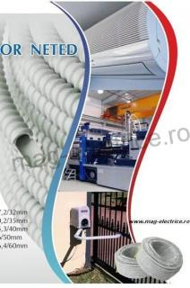 Tub flexibil PVC 22mm
