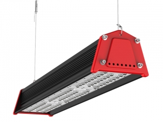 Lampa industriala liniara LED 60W 6600lm 5000K 30x70 grade 50000 ore IP65